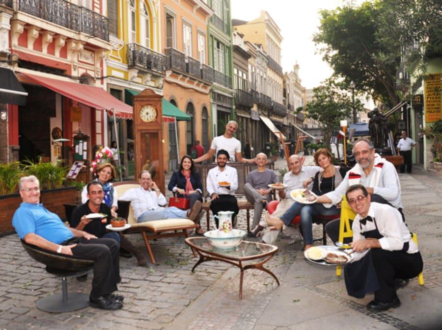 Jazz, arte e gastronomia na Rua do Lavradio!