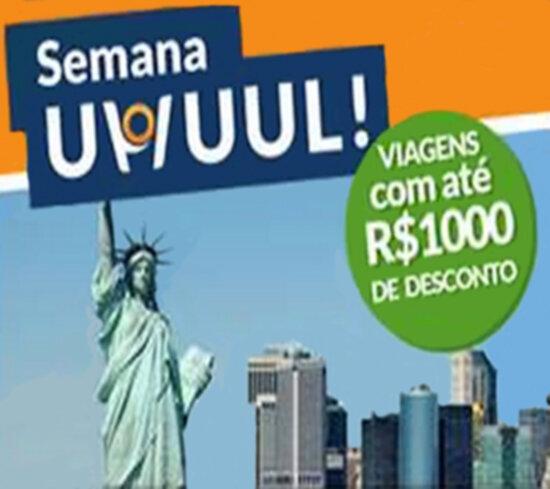 Viagens com até R$1.000 de desconto no Hotel Urbano!