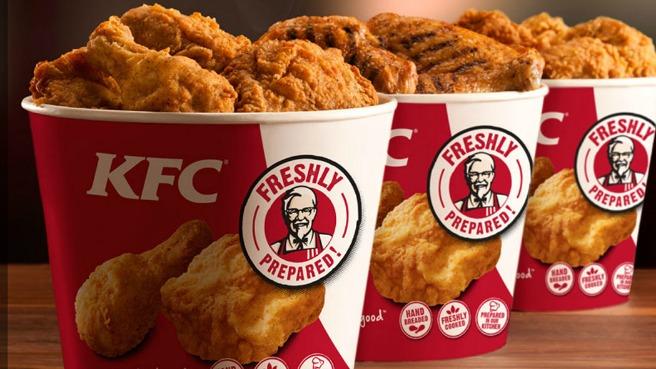 Cupons de desconto KFC